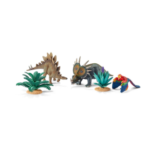 SCHLEICH DINOSAURS SERIES - AT HOME WITH THE HERBIVORES