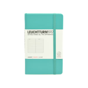 LEUCHTTURM NOTEBOOK GARIS A6 - EMERALD