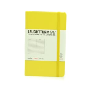 LEUCHTTURM NOTEBOOK GARIS A6 - LEMON