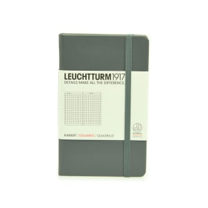 LEUCHTTURM NOTEBOOK KOTAK A6 - ANTHRACITE