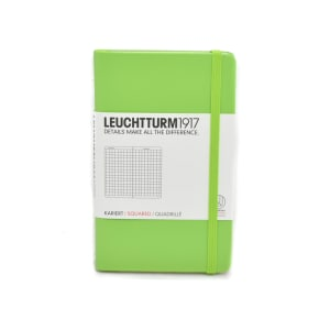 LEUCHTTURM NOTEBOOK KOTAK A6 - LIME