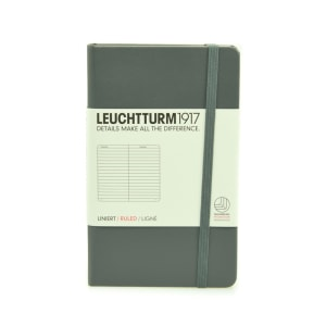 LEUCHTTURM NOTEBOOK GARIS A6 - ANTHRACITE