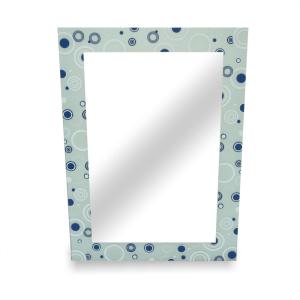 kris Cermin Persegi Panjang Motif Polkadot 70x50 cm