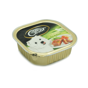 CESAR DOG FOOD PRIME BEEF VEGETABLE 100 GR