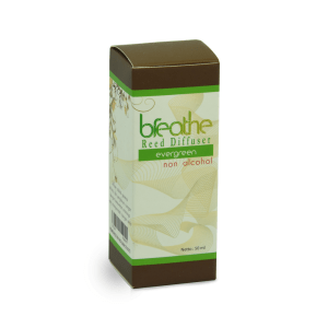 BREATHE REED DIFFUSER EVERGREEN ISI ULANG 50 ML