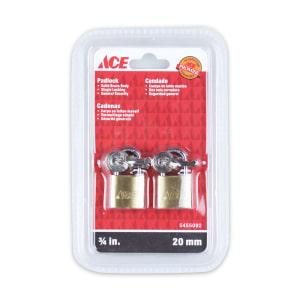 ACE SET GEMBOK KUNINGAN 20 MM 2 PCS