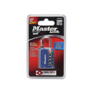 MASTER LOCK GEMBOK KUNCI KOPER - BIRU