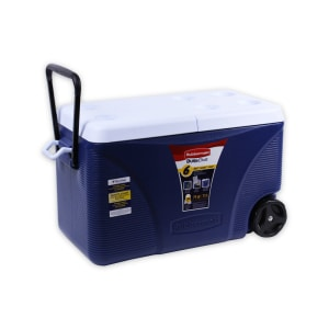RUBBERMAID COOLER WHEELED 71 LTR - BIRU