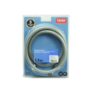 TATAY SELANG SHOWER METALLIC 1.5M - ABU ABU