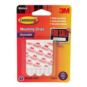 COMMAND SET MOUNTING STRIPS - MEDIUM