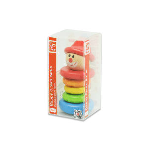 HAPE HAPPY CLOWN RATTLE