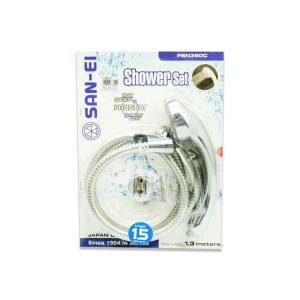 SAN EI SHOWER SET PSN350C - SILVER