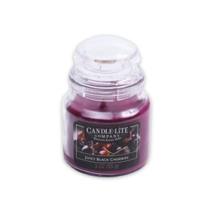 CANDLE LITE JUICY BLACK CHERRY LILIN AROMATERAPI 85 GR