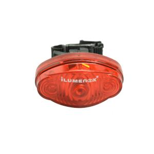 ILUMENOX LAMPU SEPEDA ROBOCOP SS-L323R