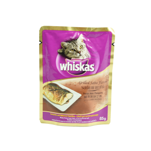 WHISKAS POUCH GRILLED FISH 85 GR