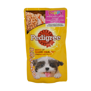PEDIGREE POUCH PUPPY CHICKEN 130 GR