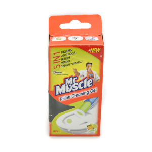 MR MUSCLE GEL PEMBERSIH TOILET ISI ULANG - CITRUS