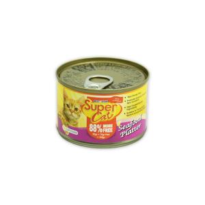 SUPER CAT SEAFOOD PLATTER 160 GR