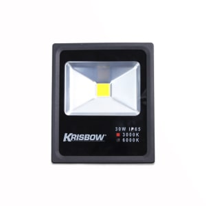KRISBOW LAMPU LED FLOOD 30W 3000K IP65