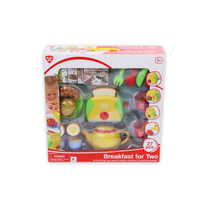 PLAYGO BREAKFAST FOR TWO 27 PCS