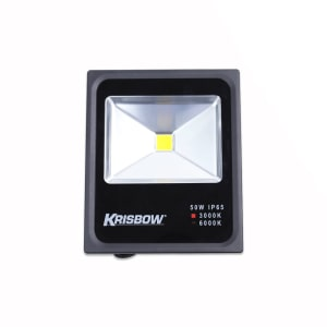 KRISBOW LAMPU LED FLOOD 50W 3000K IP65