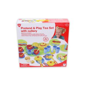 PLAYGO PRETEND & PLAY TEA SET 46 PCS