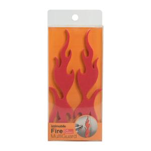 FIRE MULTI GUARD PELINDUNG PINTU MOBIL 2 PCS - MERAH