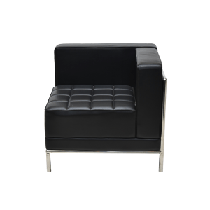 NEW QUARTER SOFA BERLENGAN - HITAM