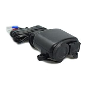 HEBE KONEKTOR USB DAN SOKET LIGHTER MOTOR