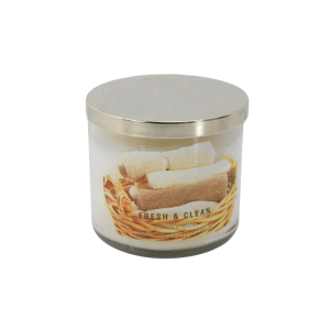 CANDLE LITE FRESH AND CLEAN AUTHENTIC LUXURY 396 GR