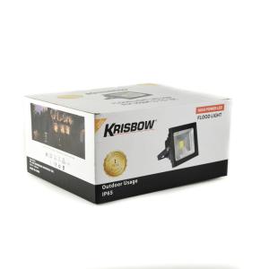 KRISBOW LAMPU SOROT LED 50W 3000K - HITAM