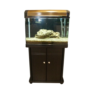 FISHLAND SET AQUARIUM DAN KABINET 75 LTR