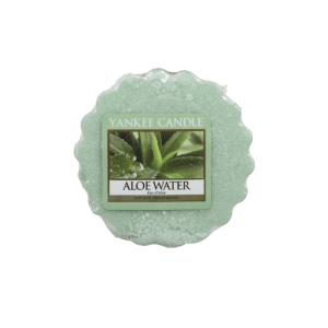 YANKEE ALOE WATER CANDLE TART