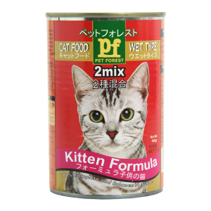 PET FOREST CAT FOOD KITTEN 400 GR