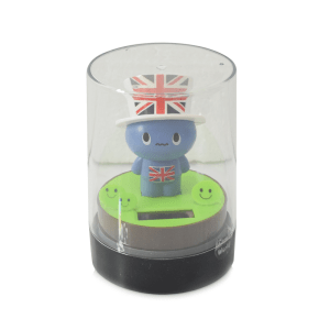 WAY & WAY MR.FLAG SOLAR TOYS - BIRU