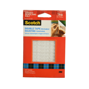 3M SCOTCH DOUBLE TAPE UNTUK MEDIA KACA