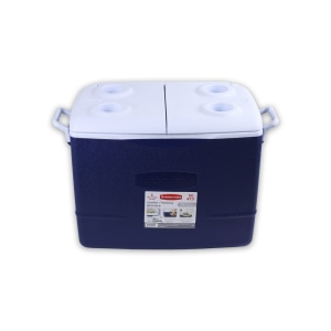 RUBBERMAID MODERN COOLER 47 LTR - BIRU