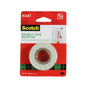 3M SCOTCH DOUBLE TAPE FOAM 24MMX1MTR