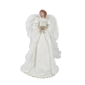 NOELLE ORNAMEN ANGEL 40 CM - PUTIH