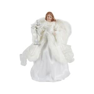 NOELLE ORNAMEN ANGEL DENGAN SAYAP 30 CM - PUTIH