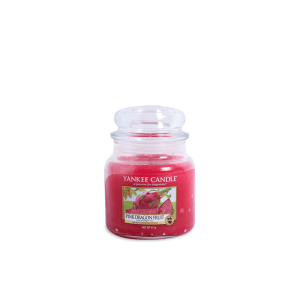 YANKEE  PINK DRAGON FRUIT CANDLE JAR 411 GR