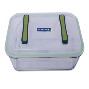 GLASSLOCK TEMPAT MAKAN KACA 6000 ML - GREEN