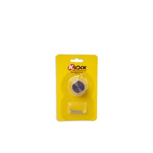 K-LOCK KNOB LEMARI BULAT 25X22MM