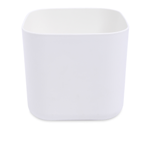 ELHO B.FOR SOFT SQUARE POT TANAMAN 18 CM - PUTIH