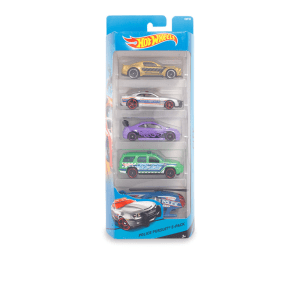 HOT WHEELS SET MINIATUR MOBIL POLICE PURSUIT