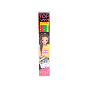 TOP MODEL SET PENSIL WARNA NEON 4 PCS