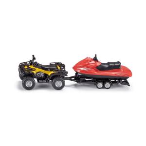 SIKU QUAD WITH TRAILLER & SNOW MOBILE