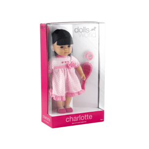 DOLLS WORLD CHARLOTTE 36 CM