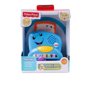 FISHER PRICE LAUGH & LEARN PEAK-A-BOO TOASTER