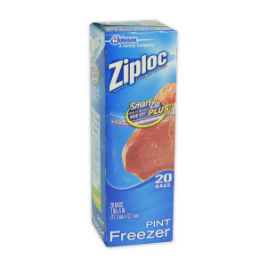 ZIPLOCK SET PLASTIK ZIPPER FREEZER 20 PCS